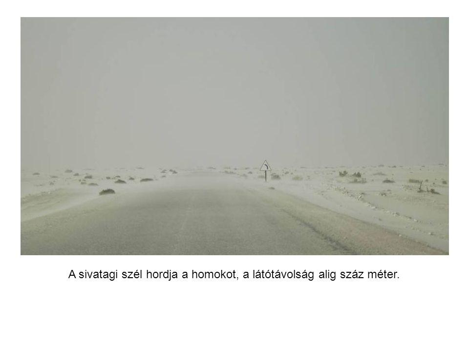 Ott autózunk, ahol a part szakad. A sivatag és az Atlanti-óceán találkozása.