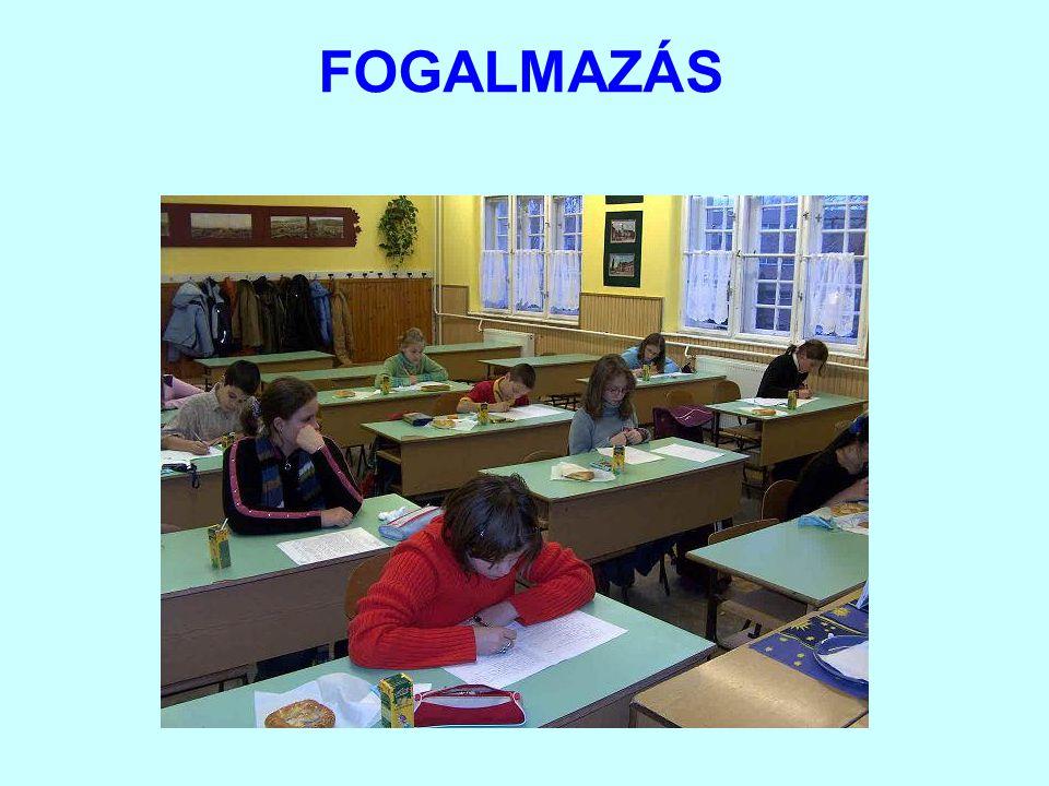 FOGALMAZÁS