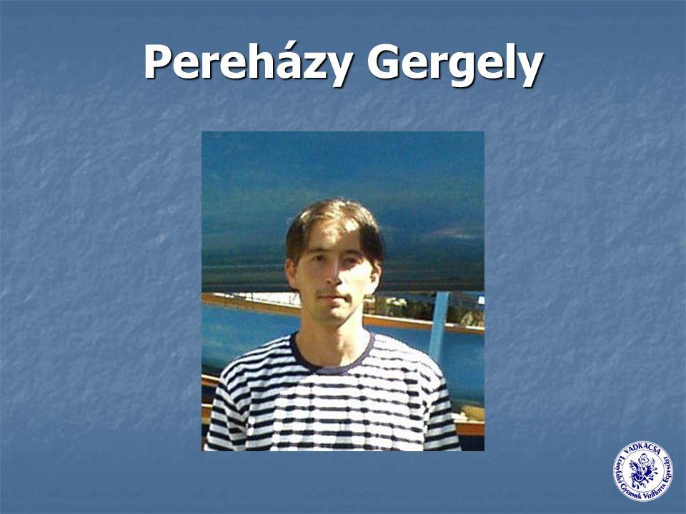 Pereházy Gergely