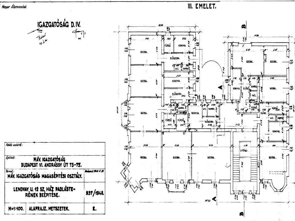 MNOSZ 974  magasépítményi tervek: 12 adat  185x120 mm  jobb alsó sarok  mellékletekre is