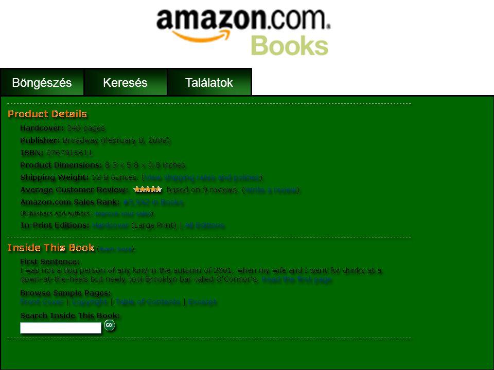 BöngészésKeresés •Cím •Szerző •Ár •Szállítási információk •Vásárlói értékelés •A könyv rövid leírása •Keresés a könyvben •Más kiadás •További ajánlat