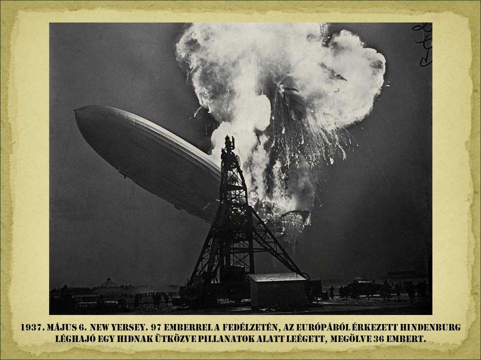 1937. április 26. Spanyolország. A Francisco Francot támogató náci légier ő bombázta és földig rombolta Guernica városát, megölve civilek százait.