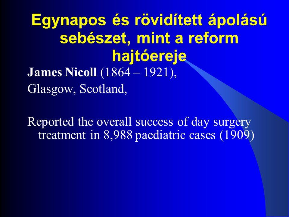 Mi az egynapos (ES) és rövidített ápolású sebészet (RÁS).