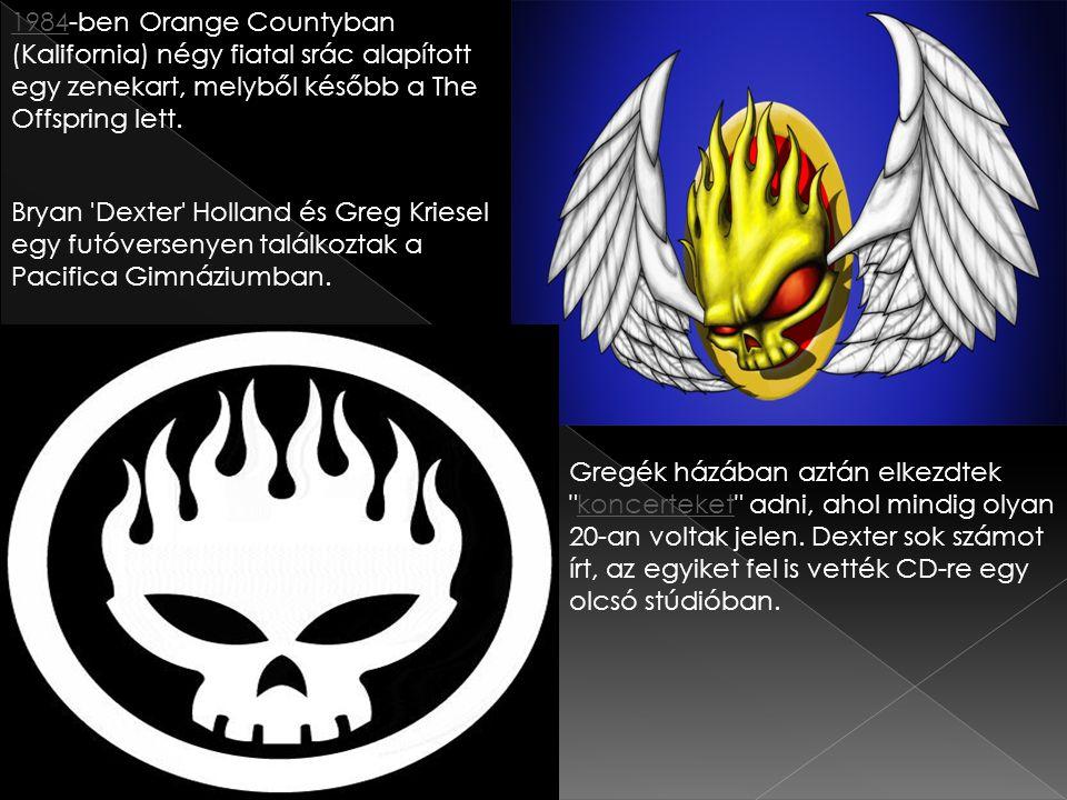 1984-ben Orange Countyban (Kalifornia) négy fiatal srác alapított egy zenekart, melyből később a The Offspring lett.