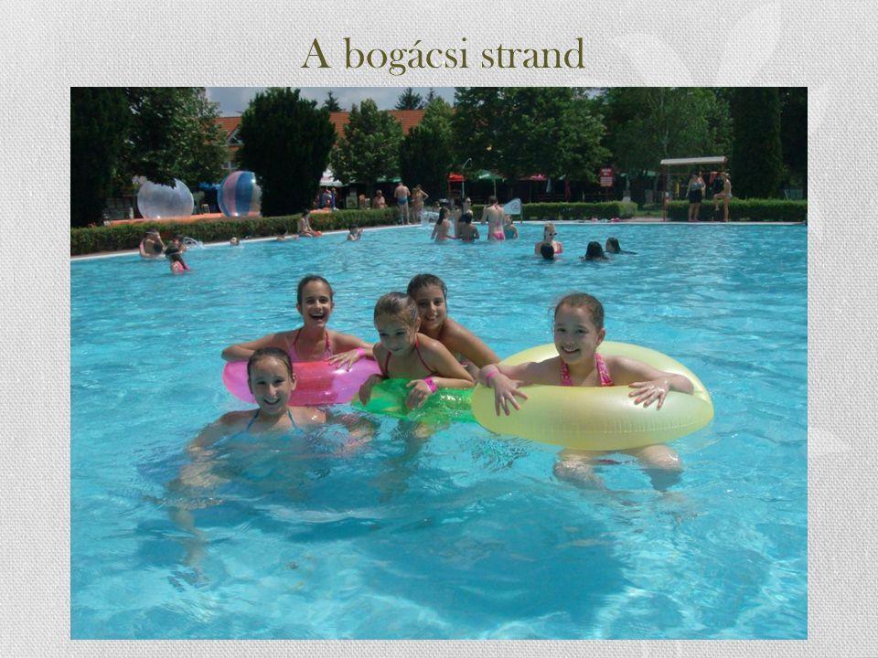 A bogácsi strand
