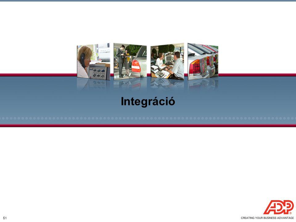 51 Integráció