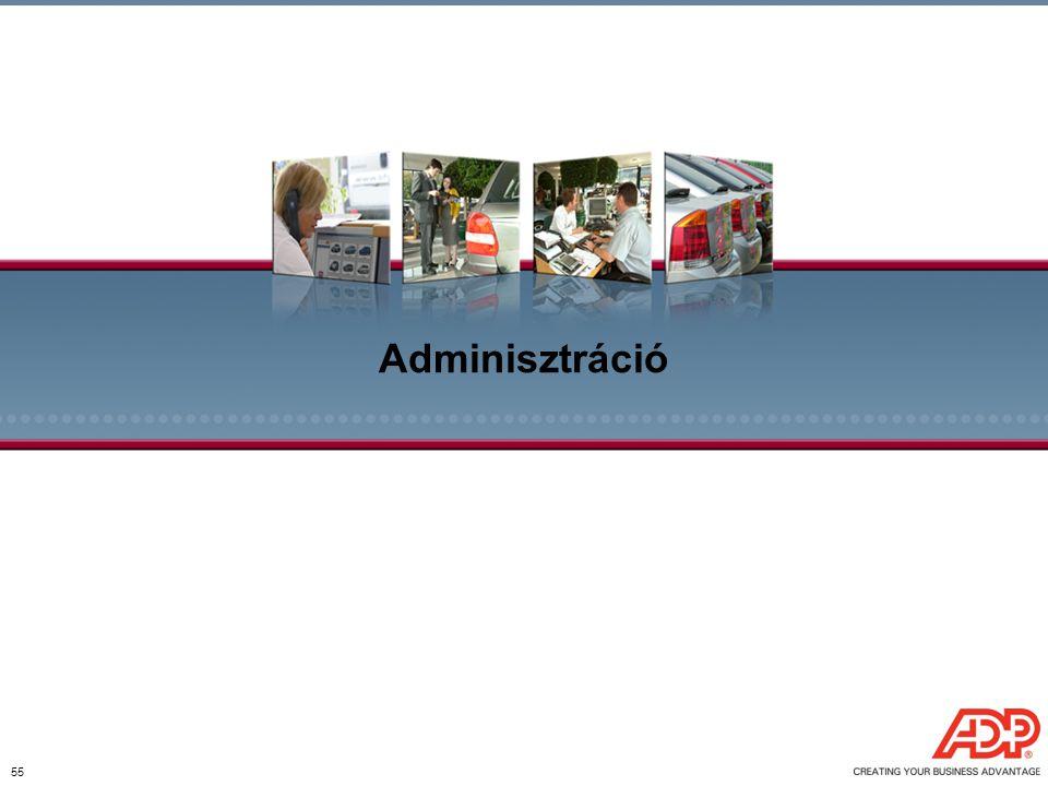 55 Adminisztráció