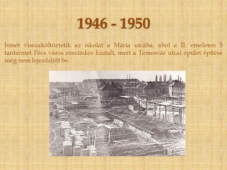 1945. május 1. - 1946. július 1.