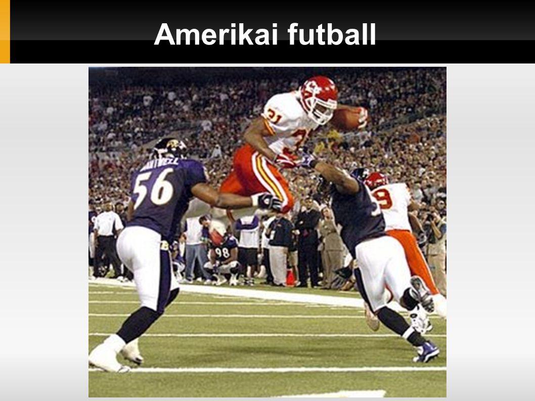 Amerikai futball története Az amerikai futball a rögbiből alakult ki a XIX.Század végén.