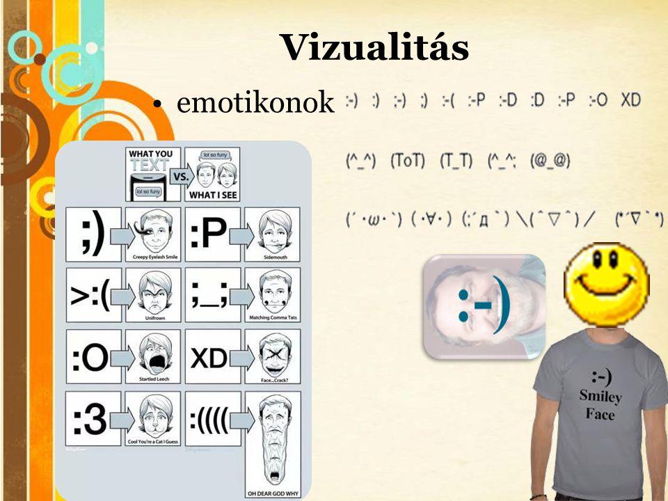 Free Powerpoint Templates Vizualitás •emotikonok