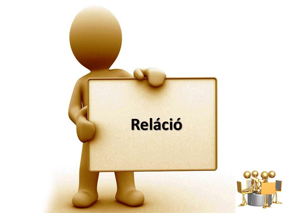 Reláció