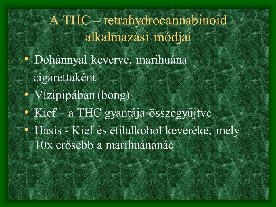 A marihuána krónikus hatásai • Morális decadentia • Munka és tanulás elhagyása • Családi krízisek • Totális érdektelenség a fű megszerzésén és használ