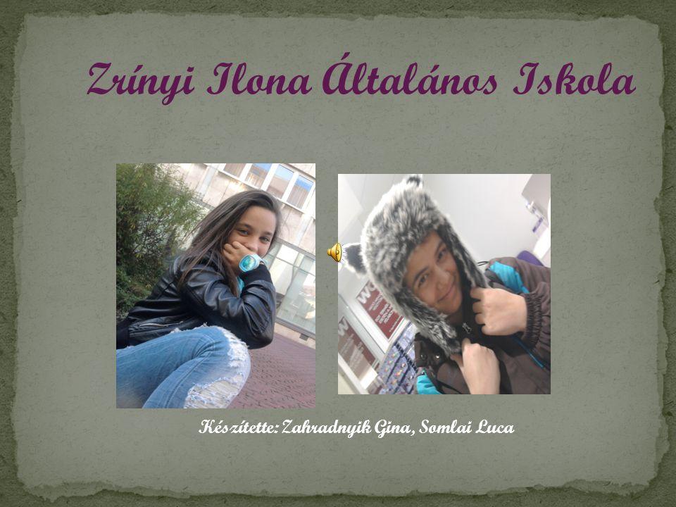 Zrínyi Ilona Általános Iskola Készítette: Zahradnyik Gina, Somlai Luca