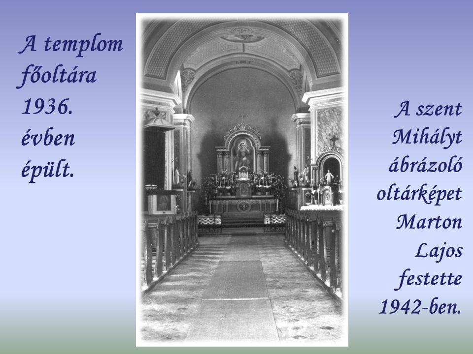 Templomunk a liturgikus tér átrendezése előtt
