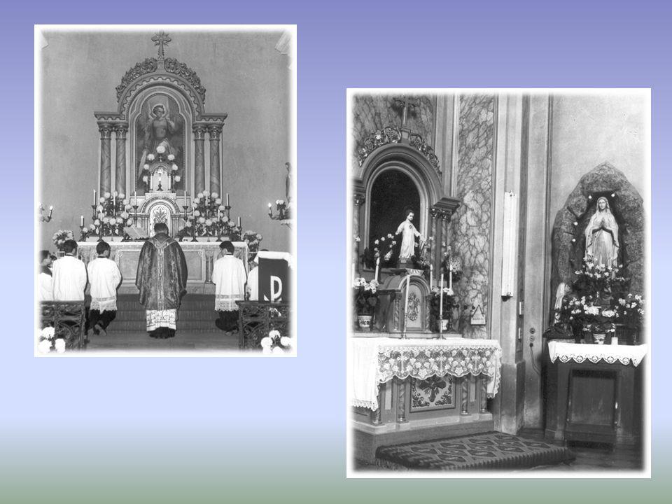 A templom főoltára 1936.évben épült.