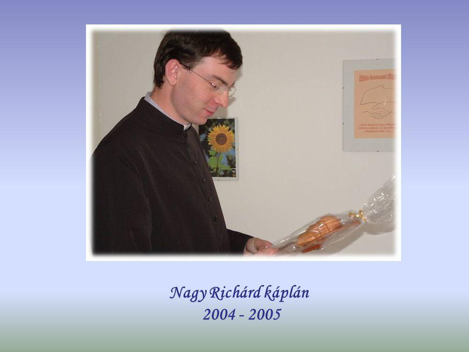 Lukács András plébániai kormányzó 2004 - 2005