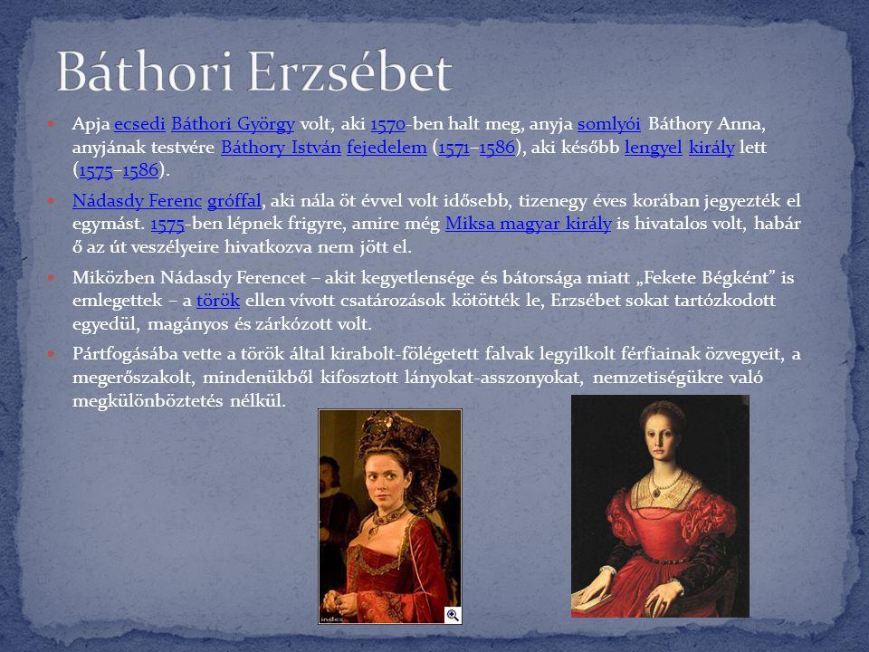  Apja ecsedi Báthori György volt, aki 1570-ben halt meg, anyja somlyói Báthory Anna, anyjának testvére Báthory István fejedelem (1571–1586), aki késő