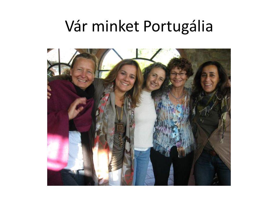 Vár minket Portugália