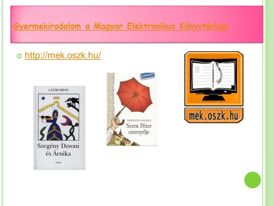 http://mek.oszk.hu/