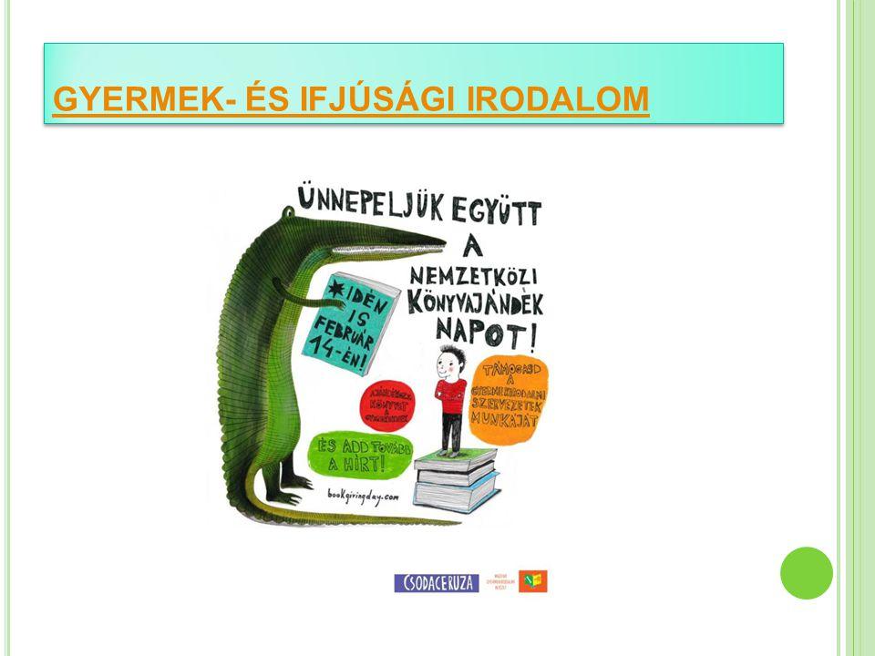GYERMEKIRODALOM LINKGYŰJTEMÉNY http://gyermekirodalom.lap.hu/ http://csodaceruza.hu/ www.koloknet.hu Játékok, zenék, videók, versek, tudomány www.egyszervolt.hu www.mesetv.hu http://hu.da-vinci-learning.com/ http://dia.osaarchivum.org/public/index.php http://koltogeto.blog.hu/