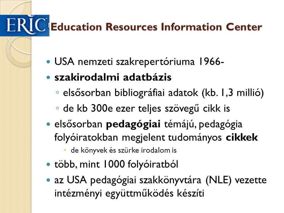 EBSCO  nem kell hozzá jelszó ◦ csak jogosult könyvtárak IP cím- tartományából  pl.: OPKM, PPK, FSZEK  PPK távoli elérés olvasójeggyel  egyszerre több adatbázis is kereshető  jelenleg elérhető adatbázisok: ◦ pedagógiai  ERIC  Education Research Complete ◦ Academic Search Comlete – multidiszciplináris ◦ üzleti ◦ orvosi, egészségügyi ◦ könyvtártudományi ◦ környezetvédelmi ◦ napilap 29