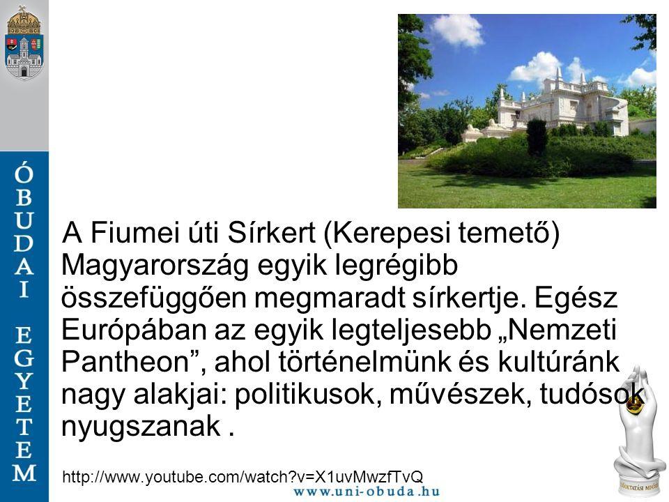 """A Fiumei úti Sírkert (Kerepesi temető) Magyarország egyik legrégibb összefüggően megmaradt sírkertje. Egész Európában az egyik legteljesebb """"Nemzeti P"""