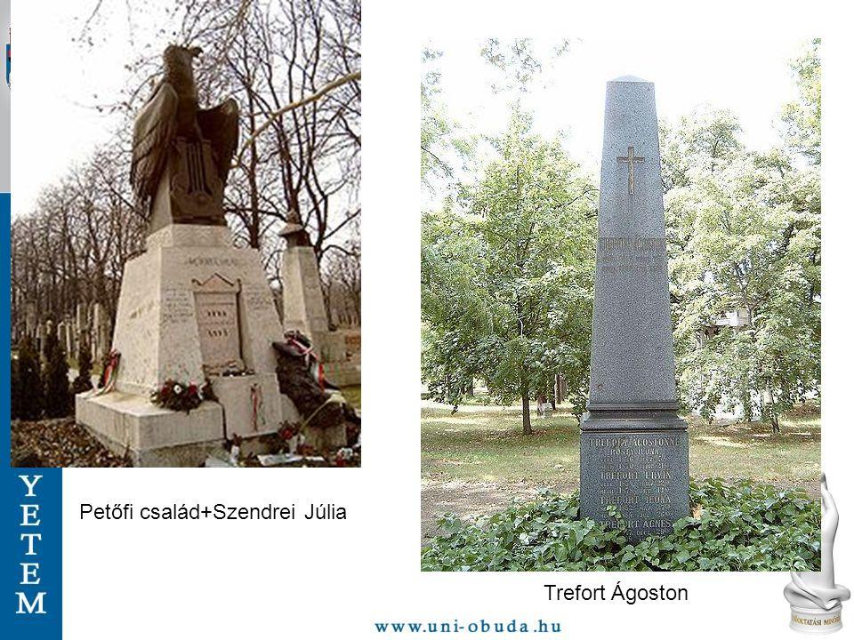 Petőfi család+Szendrei Júlia Trefort Ágoston