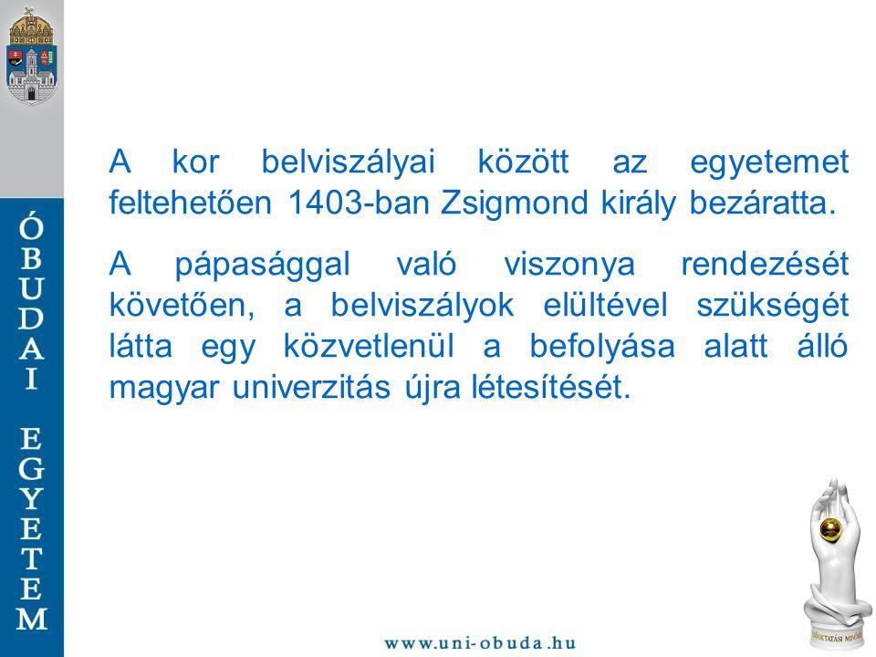 Zsigmond kérésére 1410.