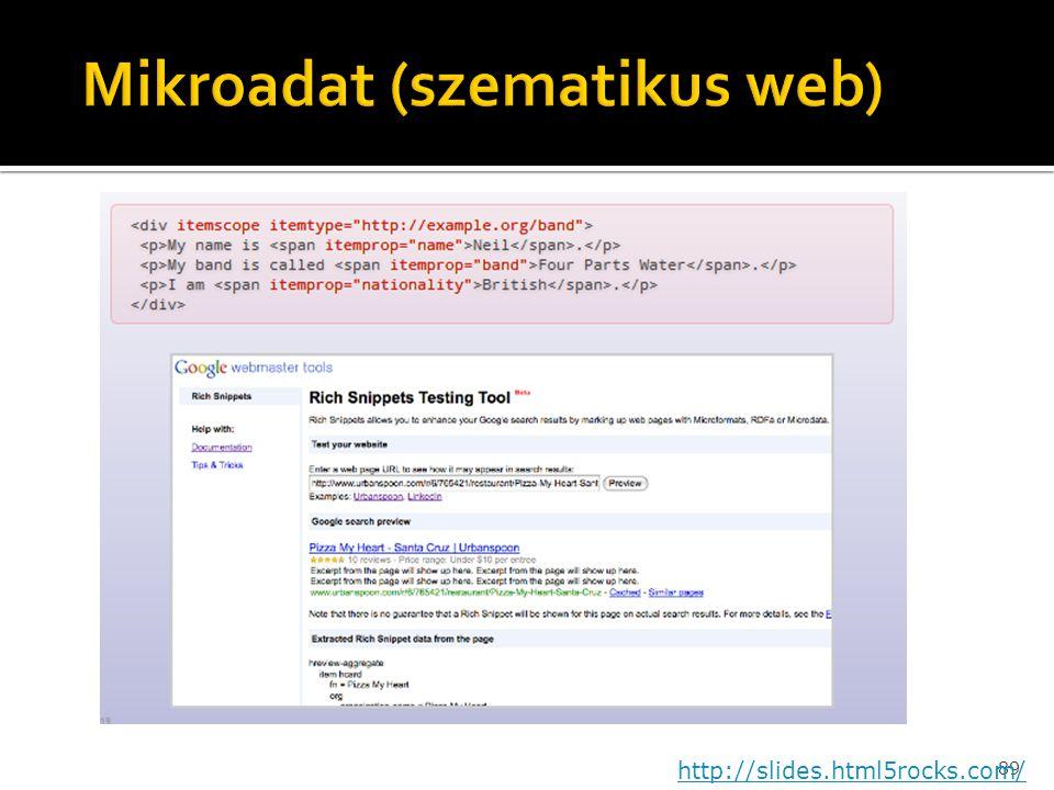 89 http://slides.html5rocks.com/