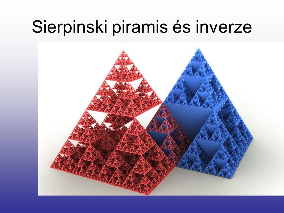 Sierpinski piramis és inverze