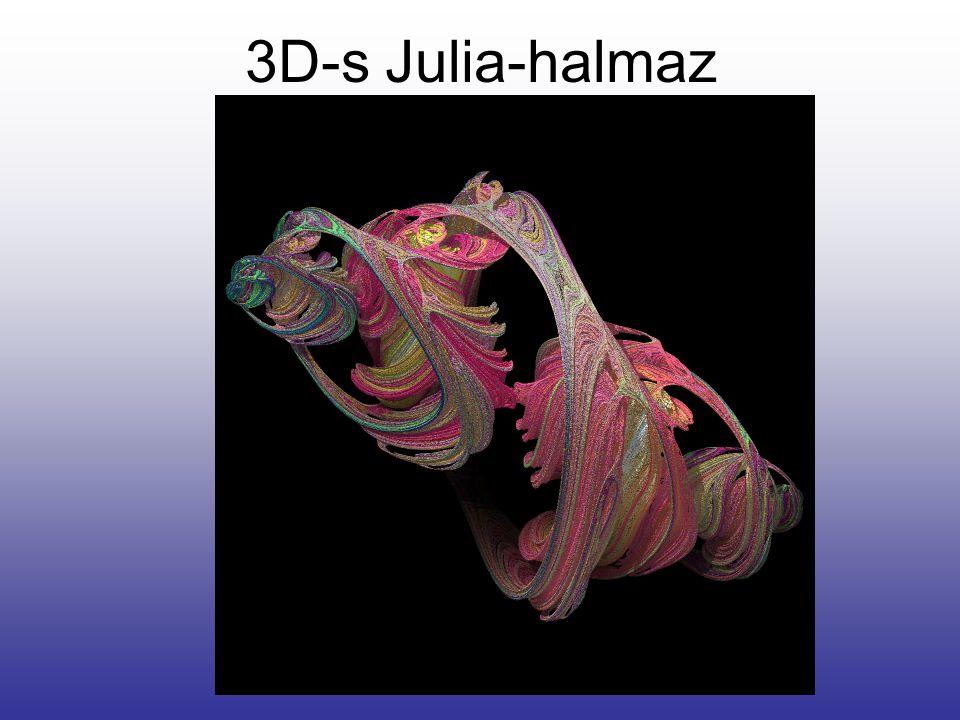 3D-s Julia-halmaz