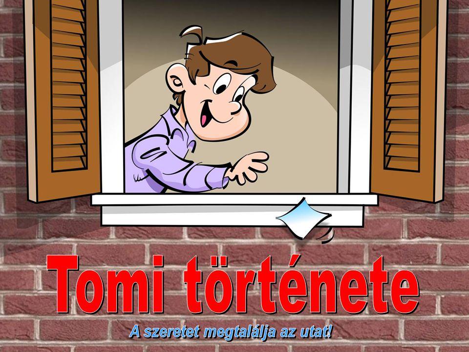 """Hosszú és jelentőségteljes csönd után Tomi – aki nagyon szomorúnak látszott, mert nem akarta megbántani újdonsült barátját – végül csendesen, könnyekkel a szemében, de határozottan így válaszolt: """"Sajnálom, de soha nem tudnék olyan helyen élni, ahol nem járnak emberek az ablakom alatt."""