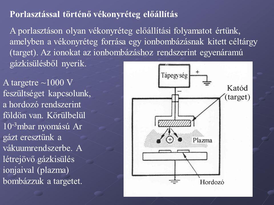 Napelem üvegen (Sn, SnO, n-Si, P-Si) Rézháló üvegen