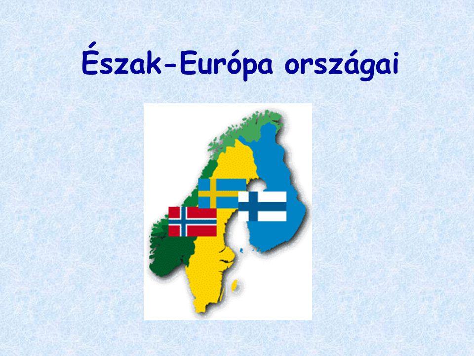 Észak-Európa országai