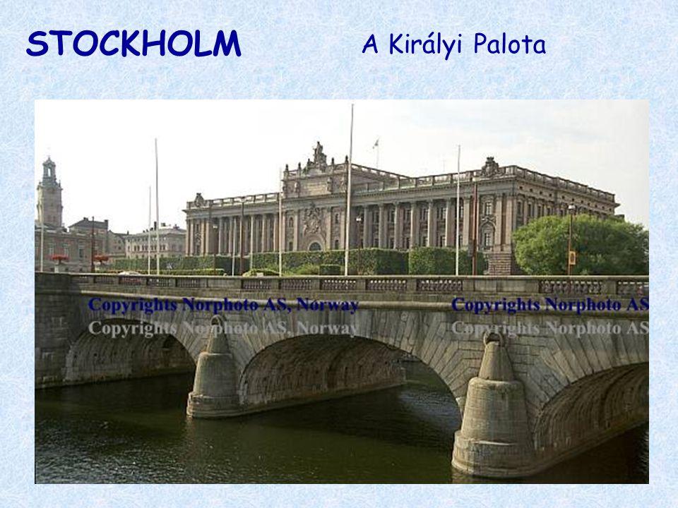 STOCKHOLM A Királyi Palota