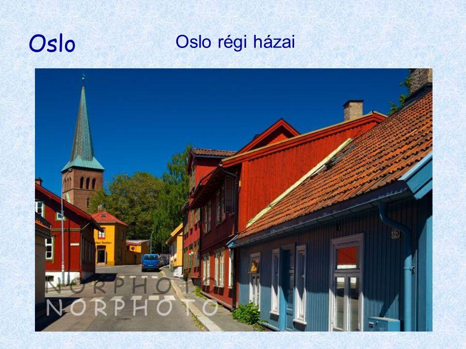 Oslo Oslo régi házai