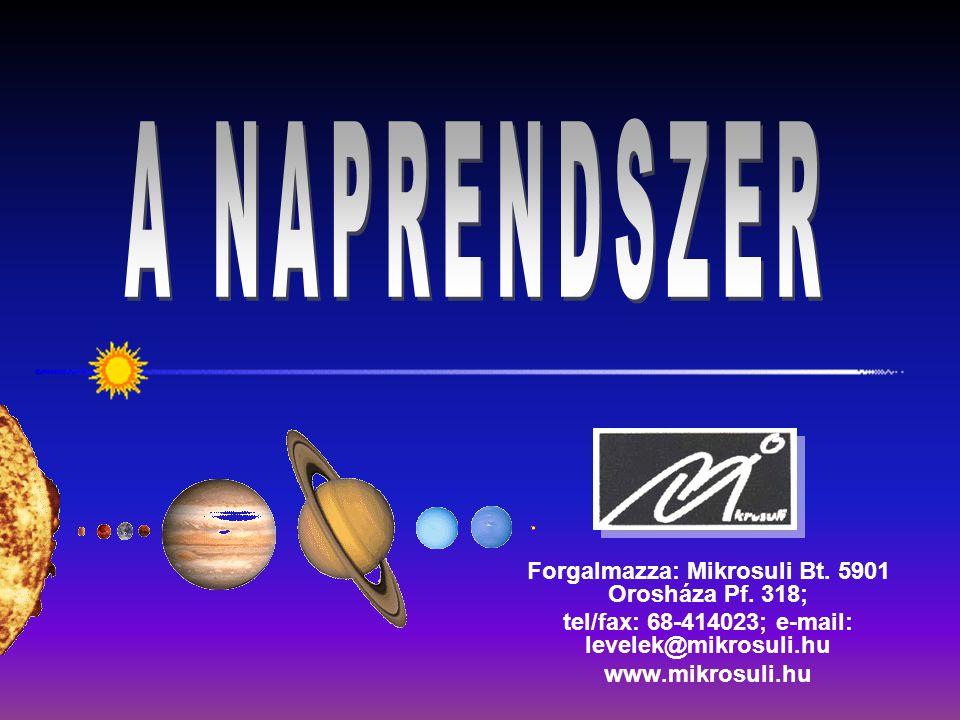 Forgalmazza: Mikrosuli Bt. 5901 Orosháza Pf. 318; tel/fax: 68-414023; e-mail: levelek@mikrosuli.hu www.mikrosuli.hu