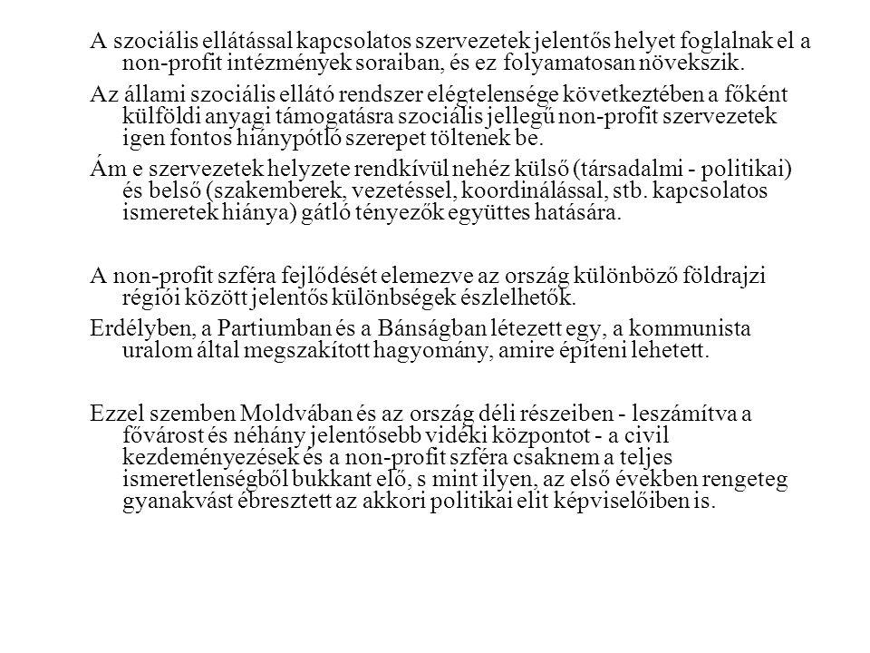 Megközelítőleg felük a fejlettebb nyugati országrészben csoportosul (Erdély, Bánság és Körös vidéke).