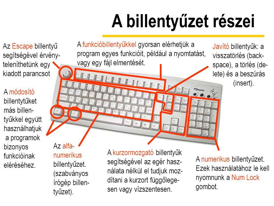 Újdonságok A drótnélküli billentyûzet használatához egy vevõegységet kell a számítógéphez csatlakoztatnunk, s ez veszi a billentyûzet jeleit és továbbítja a számítógépnek.