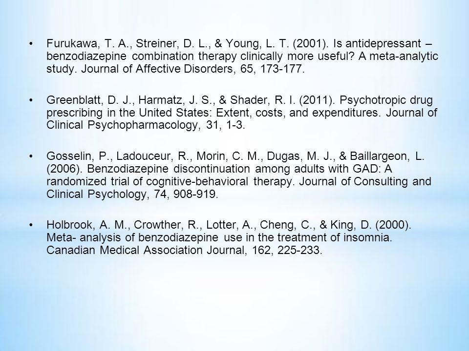 •Furukawa, T.A., Streiner, D. L., & Young, L. T. (2001).