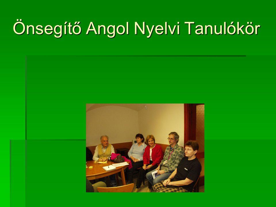 Önsegítő Angol Nyelvi Tanulókör