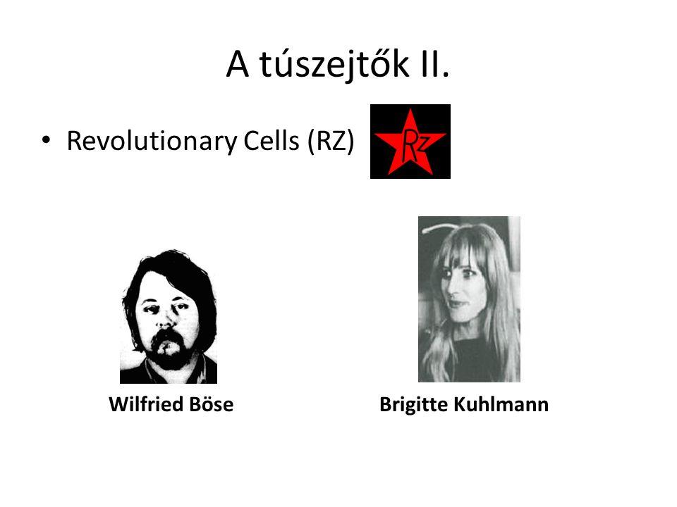 A túszejtők II. • Revolutionary Cells (RZ) Wilfried Böse Brigitte Kuhlmann