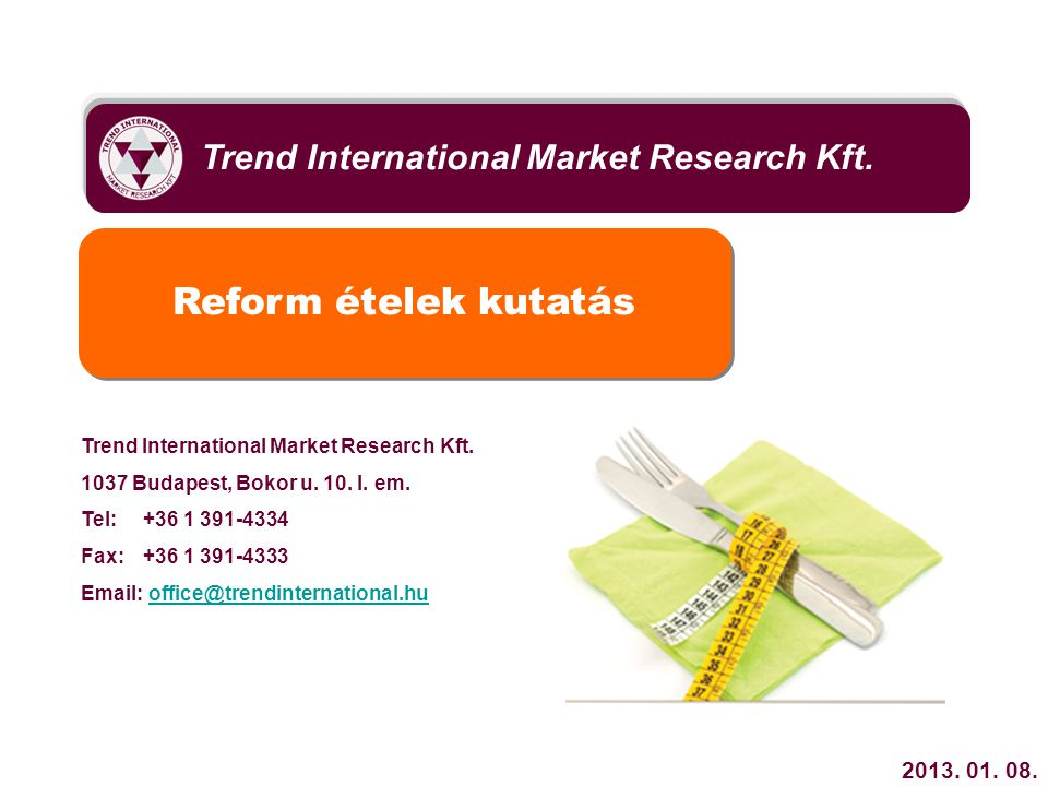 Trend International Market Research Kft.