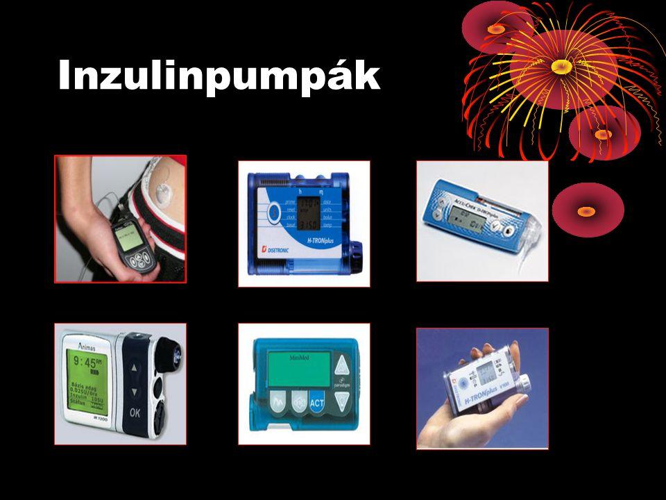Pumpa viselésének javallatai: •Akik nem vagy rosszul állíthatók be a normál vércukorszintre.