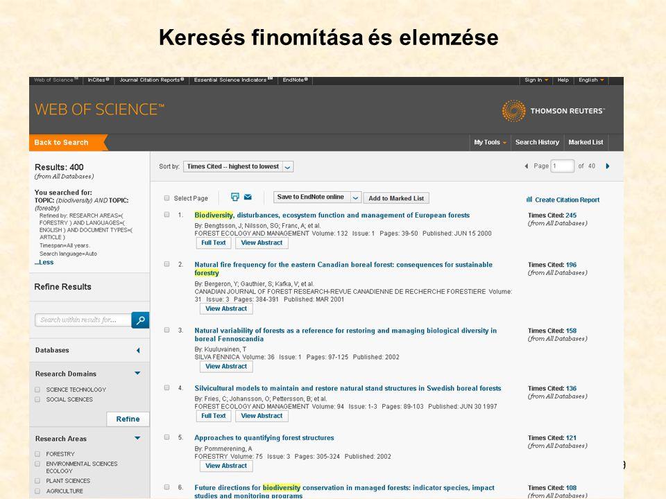 Springerlink 30 Szolgáltató: Springer Science and Business Media B.V.