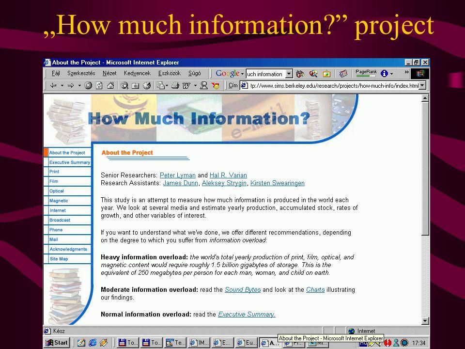 A MEK archiválási gyakorlata •Szelektív archiválás (gyűjtőkör, dok.