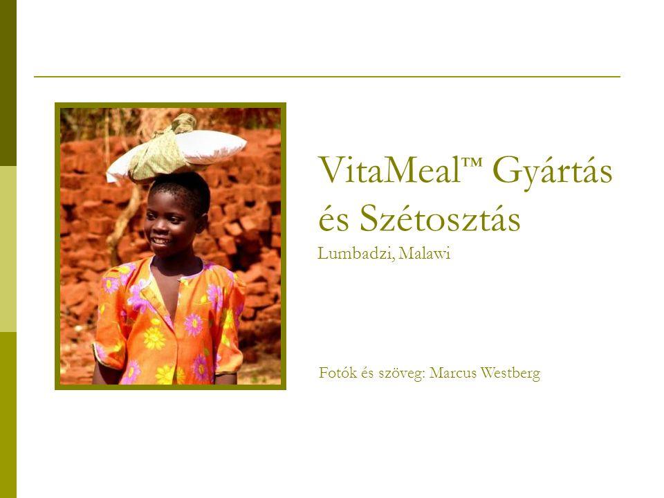VitaMeal ™ Gyártás és Szétosztás Lumbadzi, Malawi Fotók és szöveg: Marcus Westberg