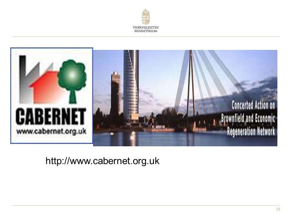 18 http://www.cabernet.org.uk