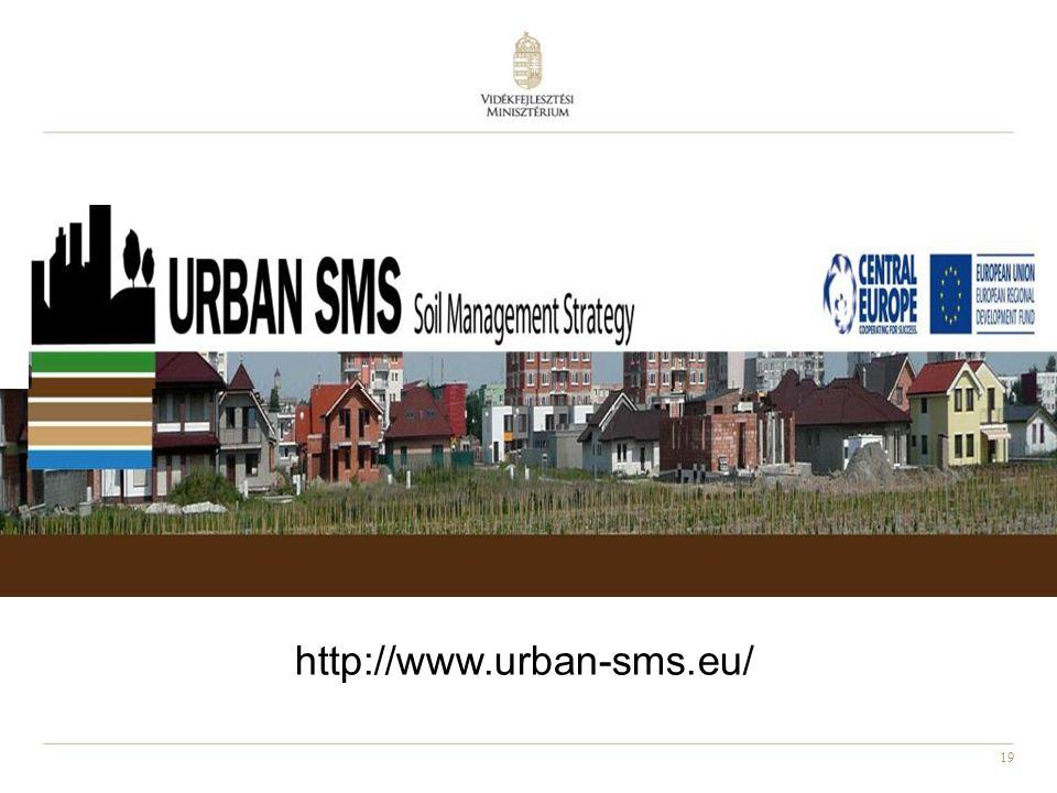 19 http://www.urban-sms.eu/