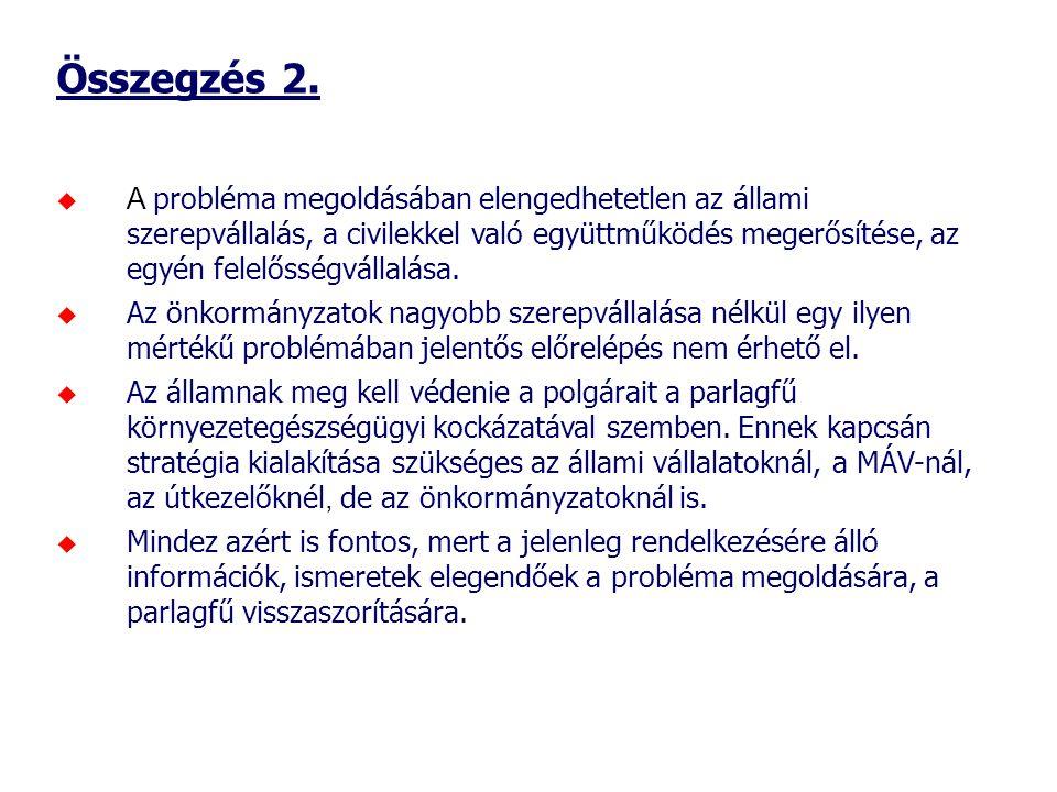 Összegzés 2.